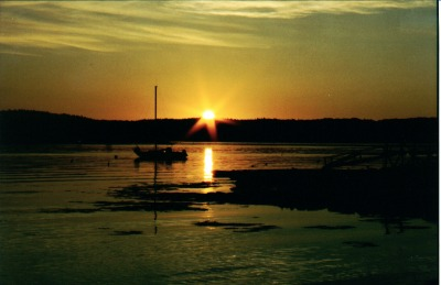 Sunset - Boothbay Harbor