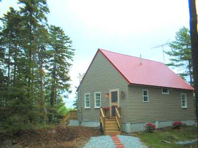 New oceanview cottage.Gray Homestead cottage rental in Maine near Boothbay Harbor